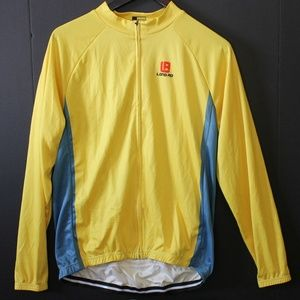 Women's Bright Yellow Bicycling Jacket